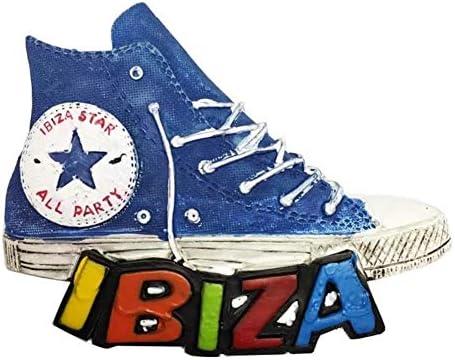 Weekinglo Souvenir Frigorífico Imán Zapatos Ibiza España 3D Resina ...