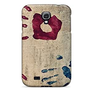 Case Cover Handprints Galaxy S4 Protective Case