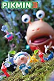 Pikmin 3 Nintendo Wii Real Time Strategy Video Game Characters Alph Brittany Charlie Poster 24x36