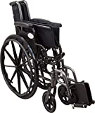 Roscoe Medical W32016S Reliance III Wheelchair with Swing Away Footrests, 20""