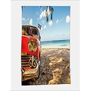 Minicoso Bath Towel american classic car on the beach cayo jutias province pinar del rio cuba 548209834 For Spa Beach Pool Bath