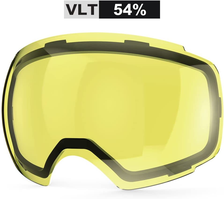 ZIONOR Lagopus X4 Ski Snowboard Snow Goggles Replacement Lenses