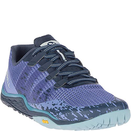 Morning Merrell Morning Glove velvet Para 5 Zapatillas Velvet Interior Mujer Trail Azul Deportivas SpxgSqvw