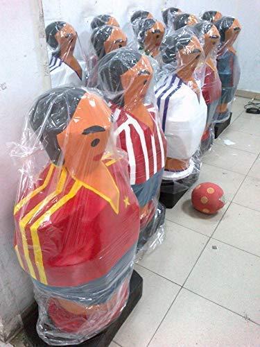 Futbol club Barcelona barsa. Escultura mas de un metro de altura muñeco futbolin gigante: Amazon.es: Handmade