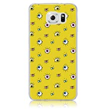 Xtra-Funky Range Samsung Galaxy Note 5 Crazy Cartoon Googly Eyes Hard Plastic Case Cover - Yellow Eyes