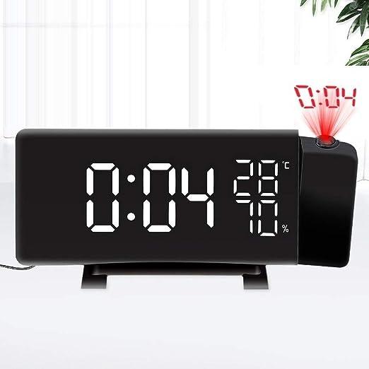Battle Of The Peak Despertador La proyección LED del Reloj de ...