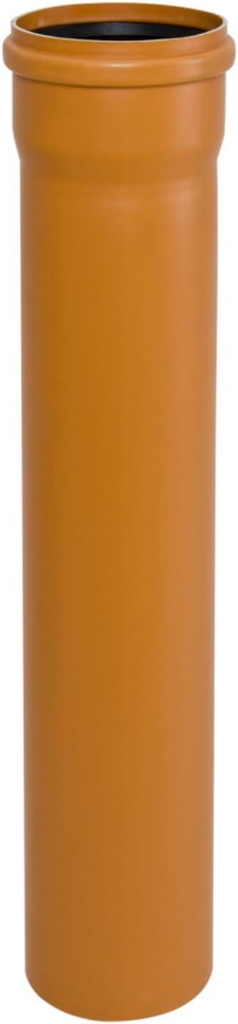 KG Verbindungsstück Sleeve DN 110-200 Kupplung Überschiebmuffe Rohr orange