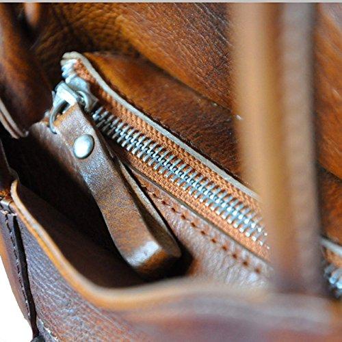 Pratesi Consuma bolsa - B465 Bruce (Violeta) Coñac