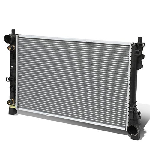 For Mercedes-Benz C-Class W203 / SLK 1-5/16 inches Inlet OE Style Aluminum Direct Replacement Racing Radiator (Mercedes Benz Radiator Fitting)