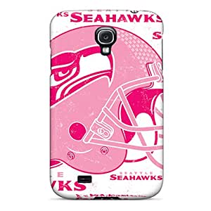 Samsung Galaxy S4 ZWg18853ecxy Customized HD Seattle Seahawks Pictures Great Cell-phone Hard Cover -PhilHolmes