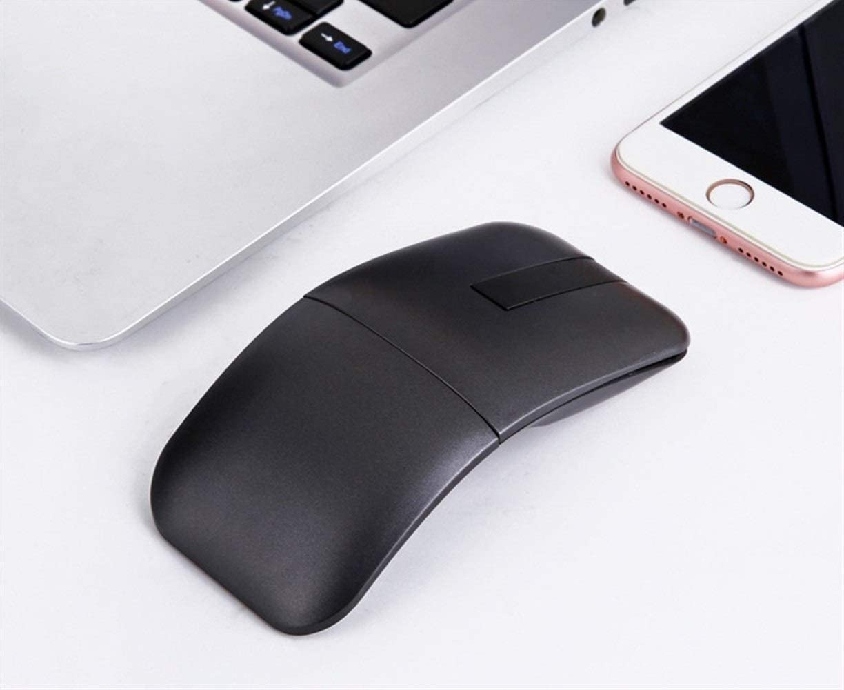 Soft Second Generation 2.4 Upgrade Arc Touch Ultra-Thin Touch Folding Suitable for Laptop Mouse GXF-Yueyin Wireless Optical Mouse