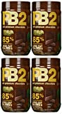Bell Plantation PB2 Powdered Peanut Butter with Chocolate, 1 Pound (4-Pack)
