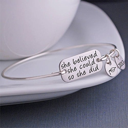 ingooood-2017-graduation-gift-she-believed-she-could-so-she-did-bangle-bracelet-bachelor-cap-jewelry