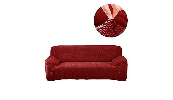 TOPCHANCES - Fundas elásticas para sofás con Textura de ...