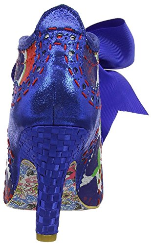 Floreale Scarpe Third Party Stivali Irregular Abigail's Donna Blu Choice wqCaga