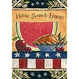 "Toland Home Garden 101157 American Folk 28 x 40 Inch Decorative, House Flag (28"" x 40"")"