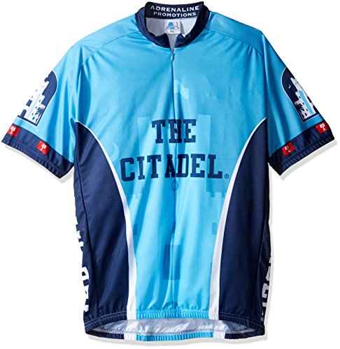 NCAA Citadel Bulldogs Cycling Jersey, XX-Large, Blue