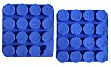 Jumbo Sized Silicone Emoji Molds - 32 Cavity 2 Pack