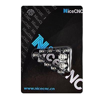 NICECNC Black Rear Brake Pedal Step Plate Tip for Husqvarna FC 250/350 2016-2020,FC 450 2020,FE 450/501 FX 350 2020,FS/FX 450 2020-2020,TC 125 2016-2020,FC 450 2016: Automotive