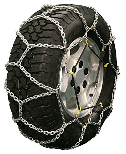 Quality Chain Diamond Back LT 5.5mm Link Tire Chains (Rubber Adjuster Style) (2521Q) ()