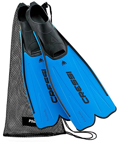 Cressi Rondinella Full Foot Fin with Mesh Bag