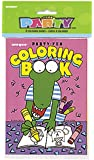 Colouring Book Party Bag Fillers, Pack of 8