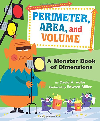 Perimeter, Area, and Volume: A Monster Book of - Perimeter At Stores