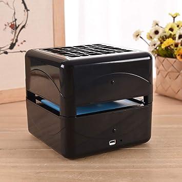 Air Cooler Fashion Portable Aire Acondicionado Mini Purificador de Aire Purificador Humidificador y Ventilador Multifuncional con Cristal de Hielo para Oficina Salón Dormitorio,Black: Amazon.es: Deportes y aire libre