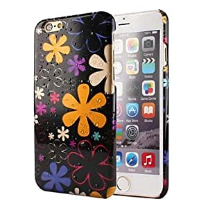 QYF Six-Leaf Flower Raindrop Pattern PC Hard Case for iPhone 6