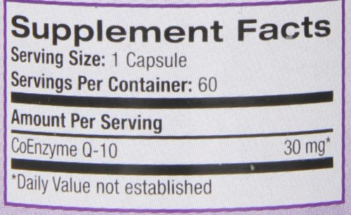 Natrol Coenzyme Q-10, 30mg Capsules, 60-Count Photo #10