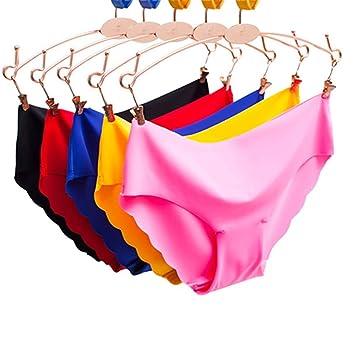 80421531a05a83 Egurs 5 Stück Frauen Sexy Seamless Unterwäsche High-Elastische ...
