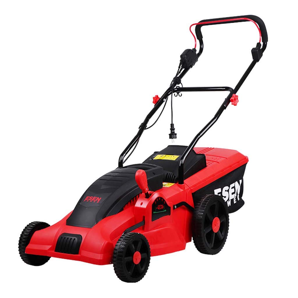 WHJ@ Push-Type Electric Lawn Mower Home Lawn Machine Multi-Function Lawn Mower Plug-in Weeding Machine by ZM-Lawn mower