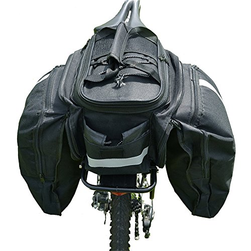 WEST Tasche Duffle MTB Helme Fahrrad-Doppeltaschen Cycle Multifunktions-Taschen innen Bicicleta Regenschutz