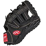 Rawlings RFBRB-3/0 Renegade Series Baseball First Base Mitt, Regular, Single-Post Double-Bar Web, 12-1/2 Inch