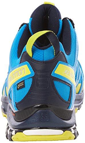 Salomon XA Pro 3D GTX, Scarpe da Trail Running Uomo Multicolore (Cloisonné/Navy Blazer/Sulphur Spring 000)