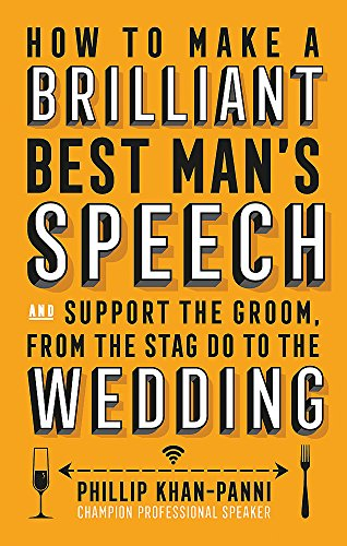 How To Make a Brilliant Best Man's Speech by ROBINSON UK