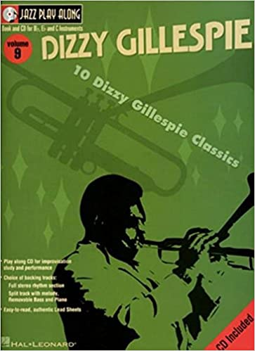 Dizzy' Gillespie's Jazz trumpet Sheet Music Play Along & CD
