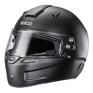 Sparco 0033553MLNR Casco para Racing, Negro, ML