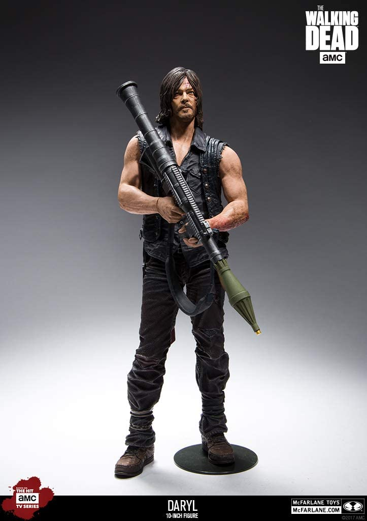 "5/"" ACTION FIGURES-MISB NUOVO McFarlane The Walking Dead-Daryl Rick /& Jesus"