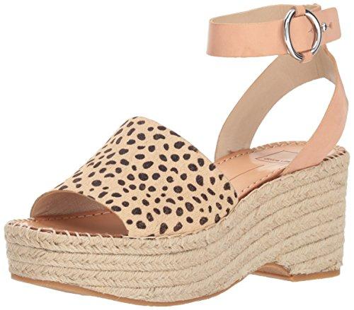 - Dolce Vita Women's Lesly Wedge Sandal, Leopard Calf Hair, 9.5 M US
