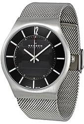 Skagen Men's 833XLSSB1 Denmark Black Dial Watch