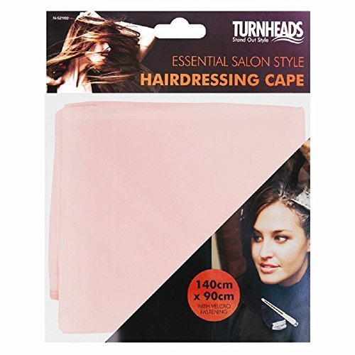 2x Hairdressing Cape- Choose colour (Pink) Turnheads