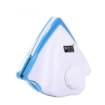 Triangle - Limpiaparabrisas magnético de doble cara ajustable para limpieza del hogar, limpiaparabrisas magnético de