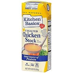 Kitchen Basics No Salt Chicken Stock, 8....