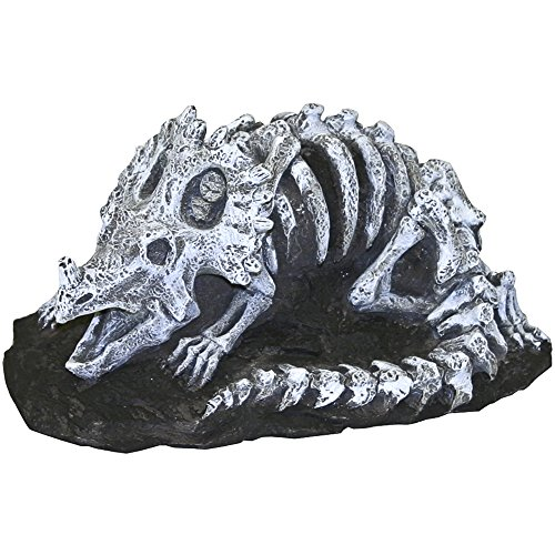 Blue Ribbon Pet Products Exotic Environments Triceratops Aquarium Ornament