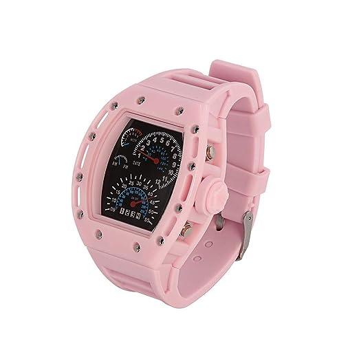 70ecf5744369 DAYLIN Reloj Digital Hombre Mujer Chico Chica Reloj Electronico Deportivo  Reloj de Pulsera de Silicona LED Reloj Automatico Militar Pulsera de  Acitvidad ...