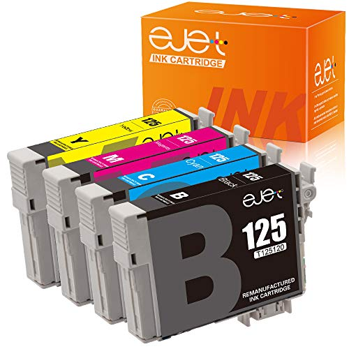 ejet Remanufactured Ink Cartridge Replacement for Epson 125