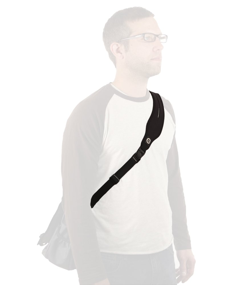 Ultra Comfortable Replacement Strap for Messenger, Duffle, Laptop, and Gym Bags. Cushioned Shoulder Pad