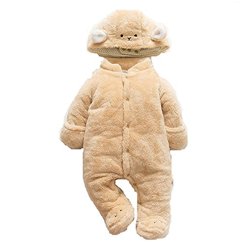 Toddler Jumpsuit, MagicQK Rabbit Detachable Costume Warm Baby Christmas Gift for Newborn to 18-Month (0-3M/22