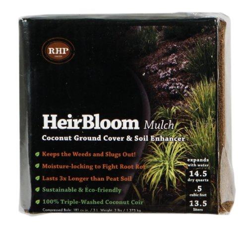 SuperMoss (01500) HeirBloom Coco Mulch, Mini Bale (0.6 ft3)